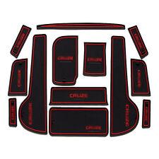 Interior Soft Rubber Door Panel Mats Cup Holder Pad For Chevrolet Cruze 09-2014