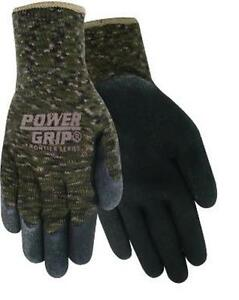 Red Steer Camo Camouflage Power Grips Light Weight Gloves Hunting Fishing M/L/XL