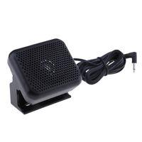 3.5mm Car Radio External Speaker for Yaesu  Kenwood Radio .