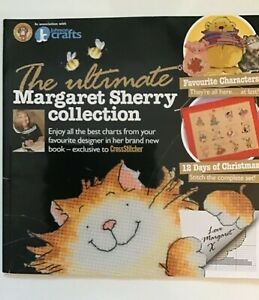 The Ultimate Margaret Sherry Collection Cross Stitch Charts Book Rare Used
