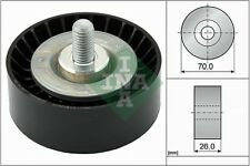 INA V-Ribbed Belt Deflection Guide Pulley 532 0475 10 532047510 - 5 YR WARRANTY