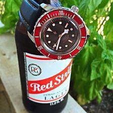 Seiko 5 Automatic Diver Sport Watch - Black Bay Mod