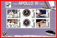 DOMINICA 1994 SPACE / APOLLO ANNIV. M/S of 6 SC#1723 MNH **