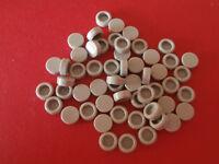 LEGO STAR WARS   60 runde 1er Fliesen 98138 in hellgrau / medium stone grey  NEU