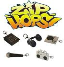 ZIP-HOPS ZIPPER PULLS 1 BLIND BOX TURNTABLE MIC BOOMBOX HIP HOP MINI FIGURES
