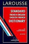 Larousse Standard French-English, English-French Dictionary Hardcover