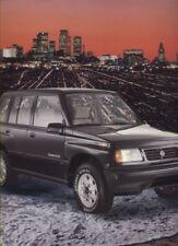 1991 Suzuki Sidekick 4-door Sales Brochure Sheet
