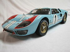 EXOTO 1/10 FORD GT 40 EDITION LIMITEE A 1966 EX EPUISE A CE JOUR