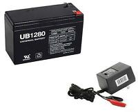 UPG 12V 8AH F2 Replaces Sea-Doo Seascooter Aqua Ranger Classic Battery WITH CHAR