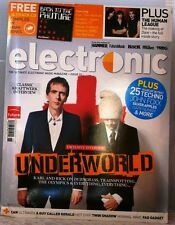 ELECTRONIC Magazine ULTIMATE ELECTRONIC MUSIC +Free CD FALL-12 $15 UK Print NEW