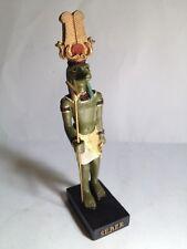 SEBEK Figura Dios Antiguo Egipto 10-15 cms Resina pintado a mano