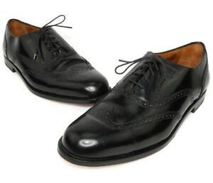 VINTAGE Cole Haan MEN'S Black Leather Flex Oxfords Size 10.5D US