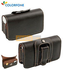 Etui Pochette Extensible Universel BROWN HOLDER Marron / DORO 6530