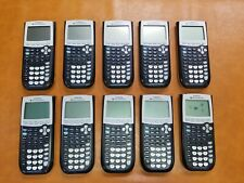 Texas Instruments Ti-84 Plus Graphing Calculators - Lot of 10 - Used