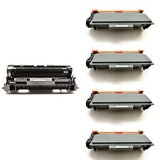4PK TN750 Toner+1PK DR720 Drum For Brother MFC-8510DN 8515DN HL-5440DN 5445D