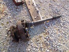 Massey Ferguson 85 Tractor Original Left Rear Drive Axle With Wheel Hub