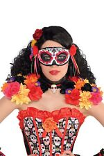 Christys Dress Up Ladies Day Of The Dead Epaulettes & Collar Halloween Accessory