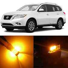 Alla Lighting Front Turn Signal Light 1157 Amber LED Bulb for 08~13 Nissan Rogue
