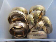 Fashion Wedding Ring Sz 12 1 Pc Mens Gold Plated Design