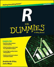 R For Dummies by Andrie de Vries, Joris Meys (Paperback, 2015)
