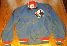 VTG Montreal Expo Atlantic sportswear  Polyester Jacket medium size baseball