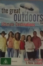 The Great Outdoors Ultimate Destinations DVD USA UK Ireland and New Zealand