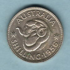 Australia  1956 Shilling..  Mintage-1500.. Proof