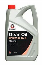 Comma EP80W-90 5L GL4 Gear Oil - GO45L - API GL-4