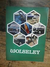1969 Wolseley car brochure: Wolseley 1300 Mk. II, 16/60 & 18/85