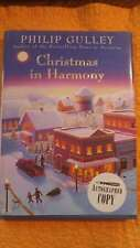Christmas In Harmony Philip Gulley Autographed Signed HC Book 1st Edition Free S