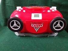 DIsney Pixar Cars 2 Boombox with Microphone CD player (2020)