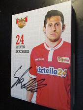 59316 Steven Skrzybski 1.FC Union 15-16 original signierte Autogrammkarte