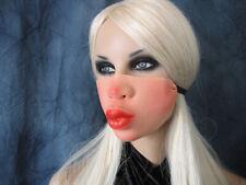SEXY KUSS-MUND MASKE - Effekt Latex Gummi Frauenmaske Frau Lippen Kiss Knutsch