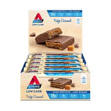 15 X Atkins Advantage Bars Fudge Caramel 60g