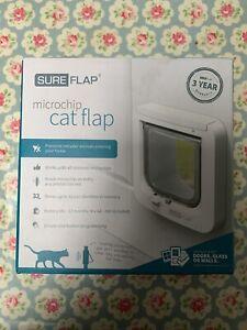 Y99 Sureflap Microchip Cat Flap - White - brand new