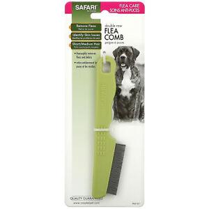 Safari, Double Row Flea Comb for Dogs, 1 Comb
