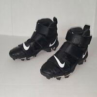 Nike Fast Flex Cleats Size 6Y Black youth FastFlex Football Sport Shoes