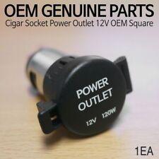 OEM Genuine Cigarette Cigar Lighter Socket Power Outlet 12V Square For KIA Car
