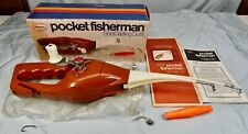 Popeil Pocket Fisherman Spin Casting Outfit NM in Box w/ Papers, Pouch, & Float!