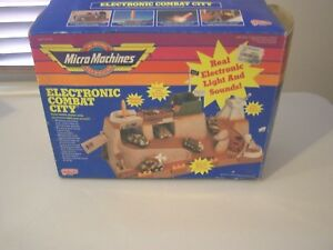 RARE  MICRO MACHINES MILITARY ELECTRONIC COMBAT CITY NEVER PLAYED WITH .