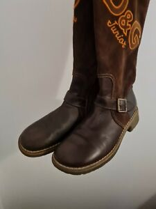 RARE D&G BOOTS 💕 FAB GENUINE VINTAGE DOLCE & GABBANA WOMENS BOOTS SIZE 40 UK 7