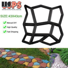 DIY Driveway Paving Stone Mold Concrete Stepping Pathmate Pavement Mould Paver