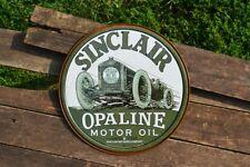 Sinclair Opaline Motor Oil Tin Metal Sign - Dino - Gasoline - Race Car - Gas