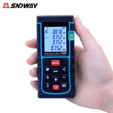 SNDWAY Laser Distance Meter 150m Trena Laser Tape Measure Tool Range Finder LCD