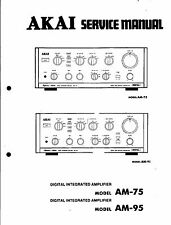 AKAI Service Manual per am-75/95