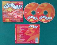 CD Compilation Festivalbar 2005 Compilation Rossa NEGRAMARO ELISA BLUE no lp(C1)