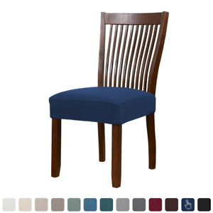 1Pcs Spandex Jacquard Dining Room Chair Seat Covers Universal Removable Washable