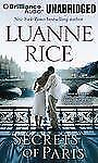SECRETS OF PARIS unabridged audio book on CD by LUANNE RICE
