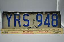 "Australia Territory License Plate - Aluminum- Road Worn Condition- 15"" x 5""-used"