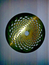 Lamp Vase Cap Round Solid Brass 4 '' - VENTED new